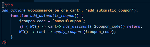 How to Apply a Coupon Code Automatically in WooCommerce/WordPress